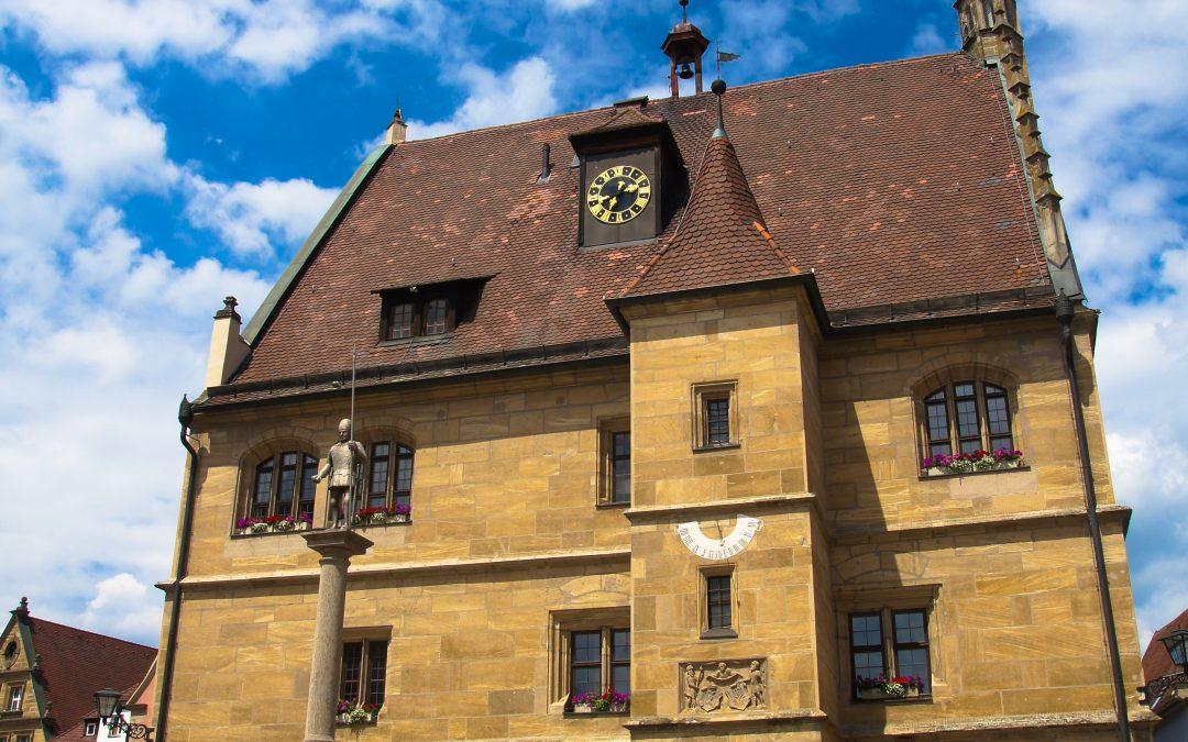 Gotisches Rathaus Weißenburg